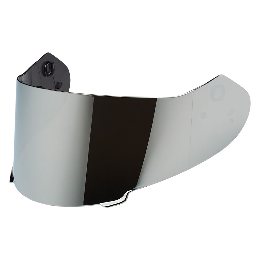 Speed and Strength SS900 Silver Irridium Face Shield
