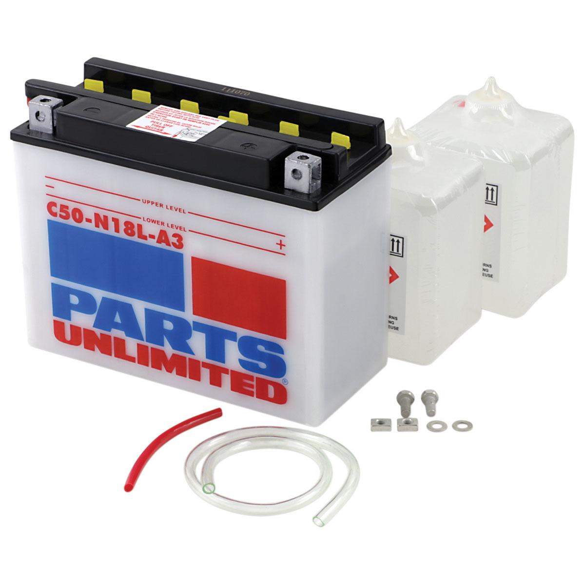 Parts Unlimited Heavy Duty Battery Kit