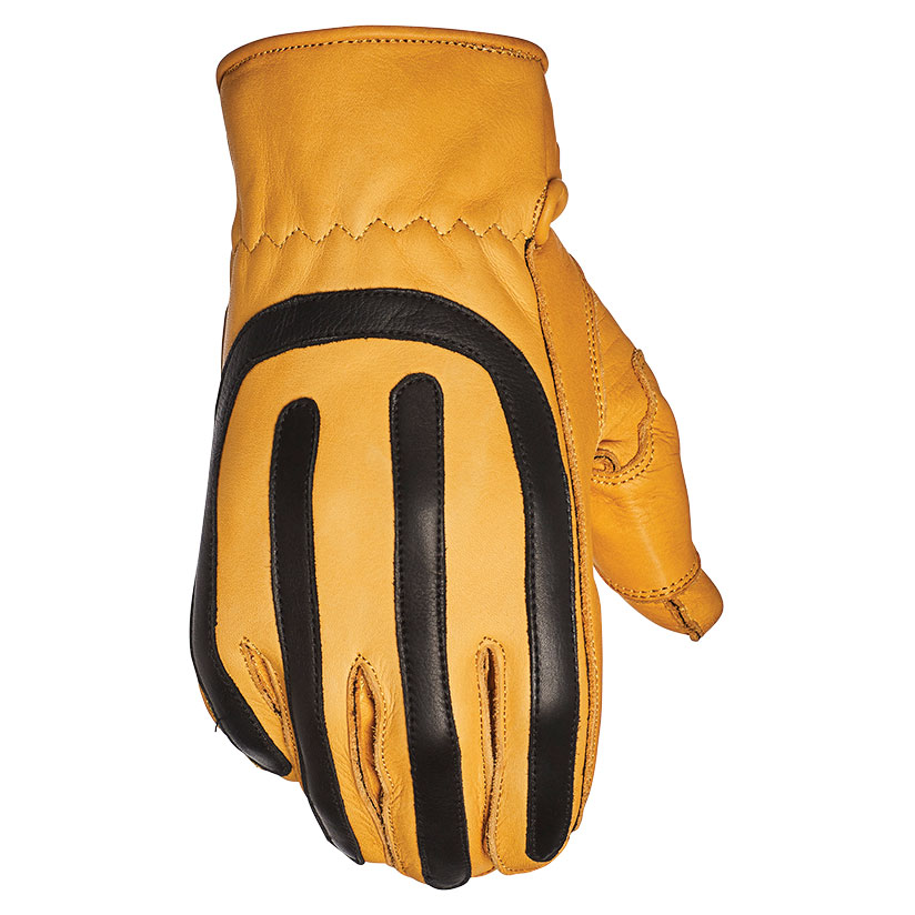 Speed and Strength Men's Anvil Tan Leather Work Gloves