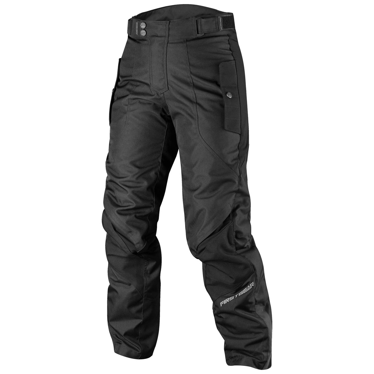 Firstgear Women's Voyage Black Textile Pants