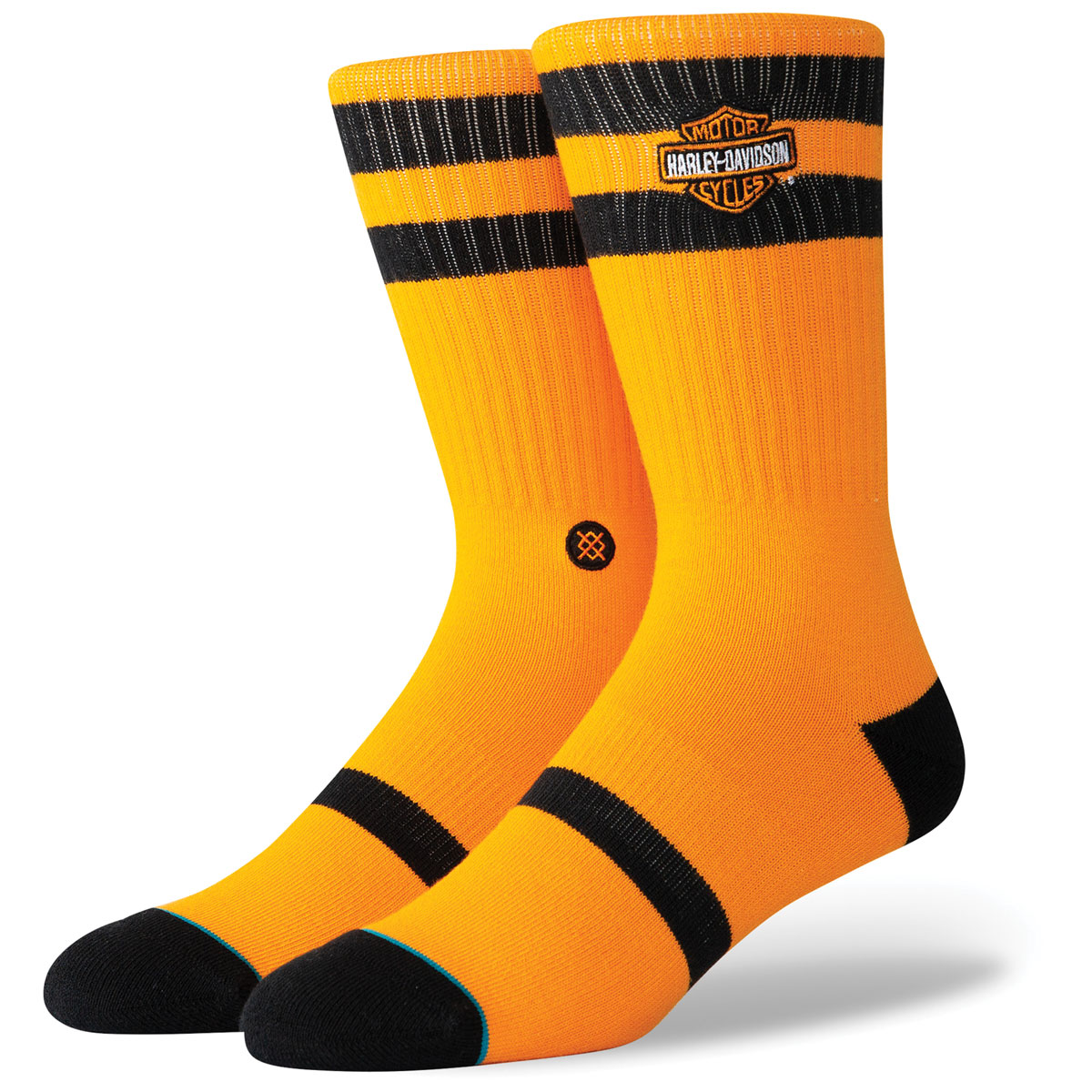 Stance Men's Harley Ride On Orange Socks