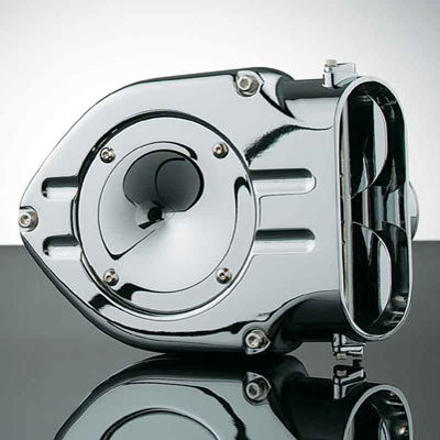 Kuryakyn Chrome Hypercharger for Mikuni HSR 42