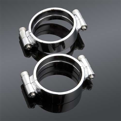 J&P Cycles® Heavy Duty Intake Clamps