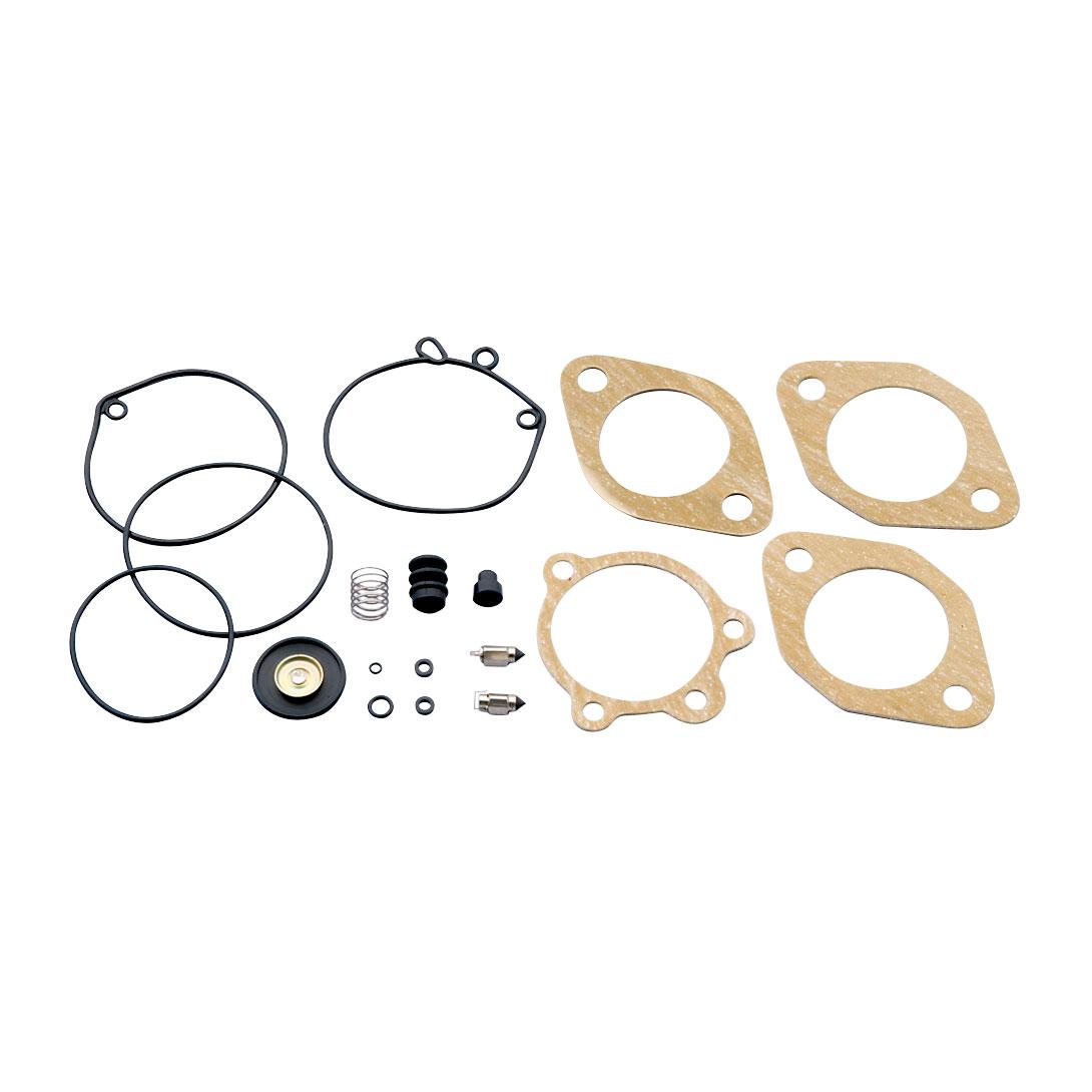 J&P Cycles® Keihin Carburetor Rebuild Kit