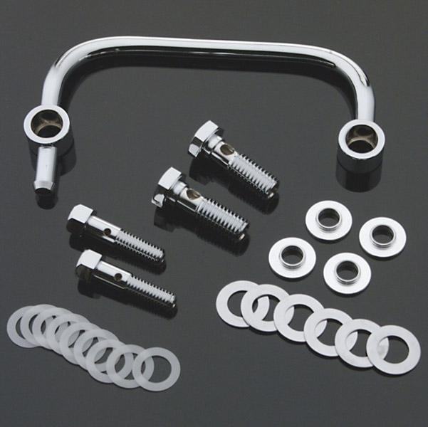 J&P Cycles® Chrome Crankcase Breather Kit