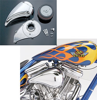 J&P Cycles® Air Cleaner