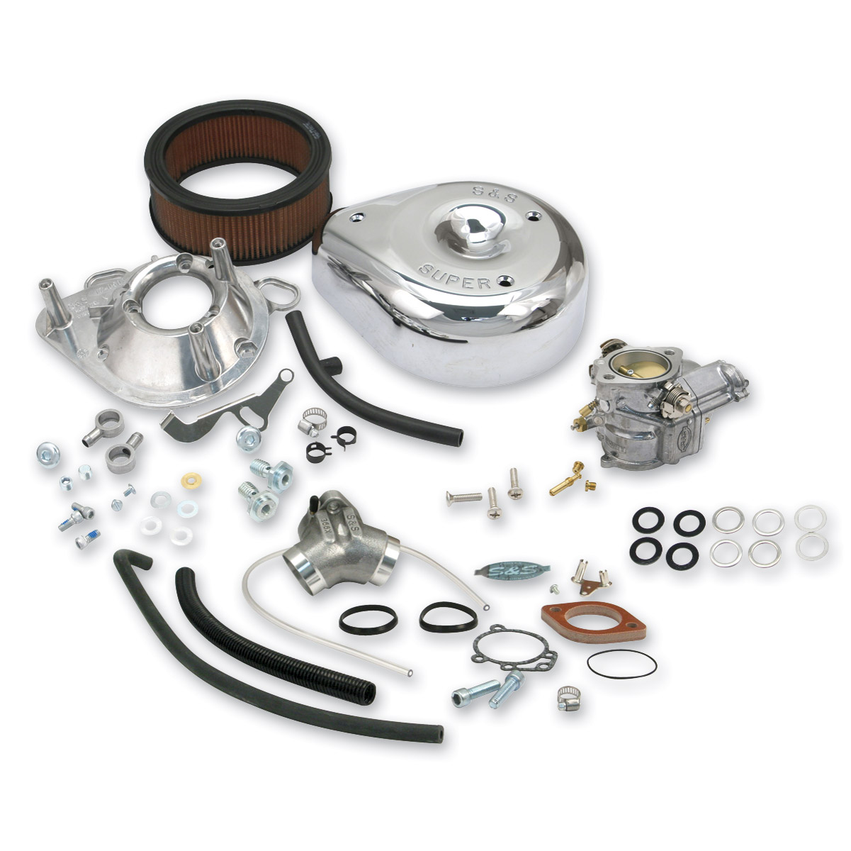 s&s cycle super 'e' complete carburetor kit