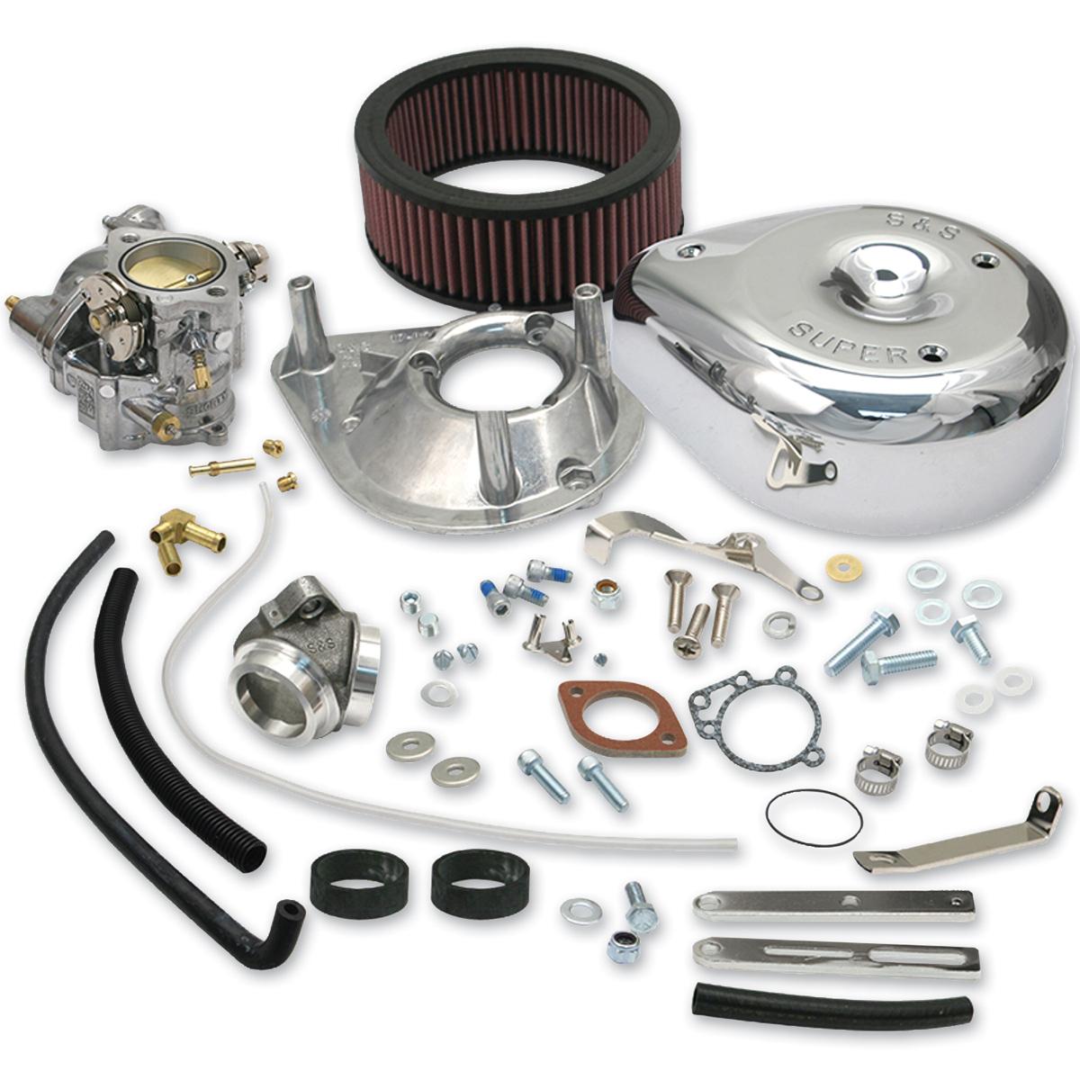 S&S Cycle Super 'E' Complete Carburetor Kit - 11-0411