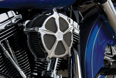 Roland Sands Design Speed-5 Venturi Chrome Air Cleaner