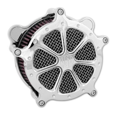 Roland Sands Design Speed 7 Venturi Chrome Air Cleaner