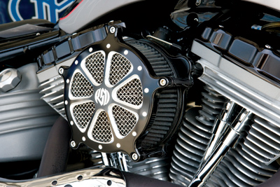 Roland Sands Design Speed 7 Venturi Contrast Cut Air Cleaner