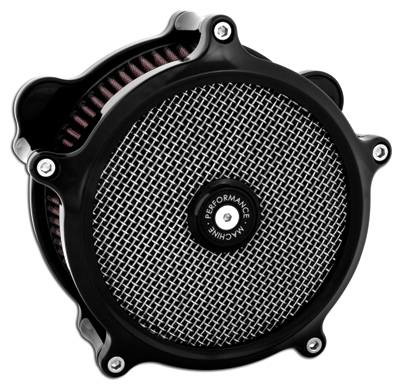 Performance Machine SuperGas Interchangeable Black Air Cleaner
