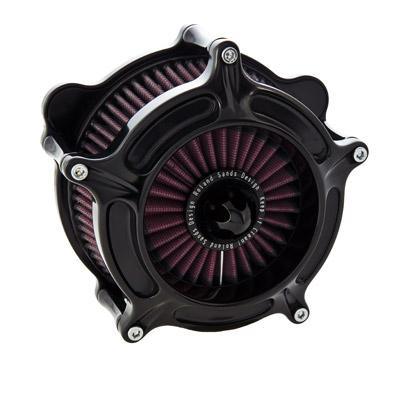 Roland Sands Design Black Anodized Turbine Air Cleaner