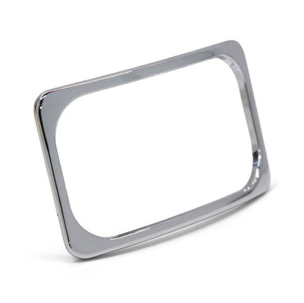 Paul Yaffe Originals Stealth 2 License Frame Chrome