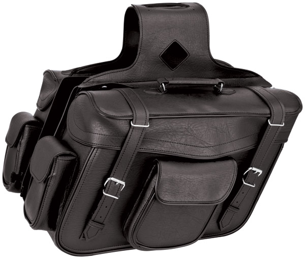 River Road Quantum Classic Slant X-Large Saddlebags