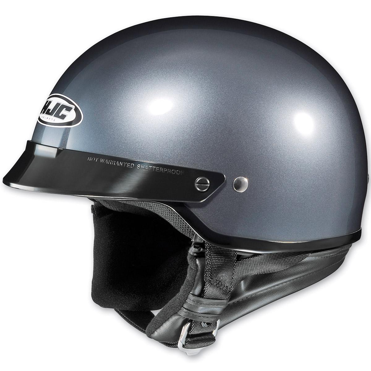 HJC CS-2N Metallic Anthracite Half Helmet