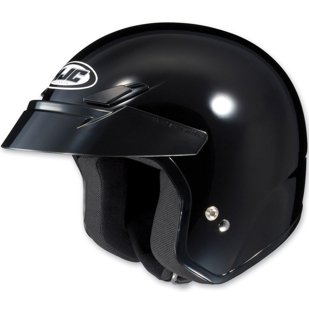 HJC CS-5N Black Open Face Helmet