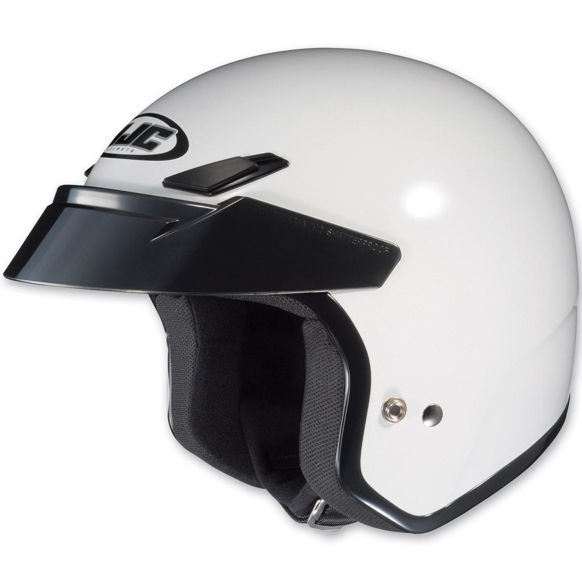 HJC CS-5N White Open Face Helmet