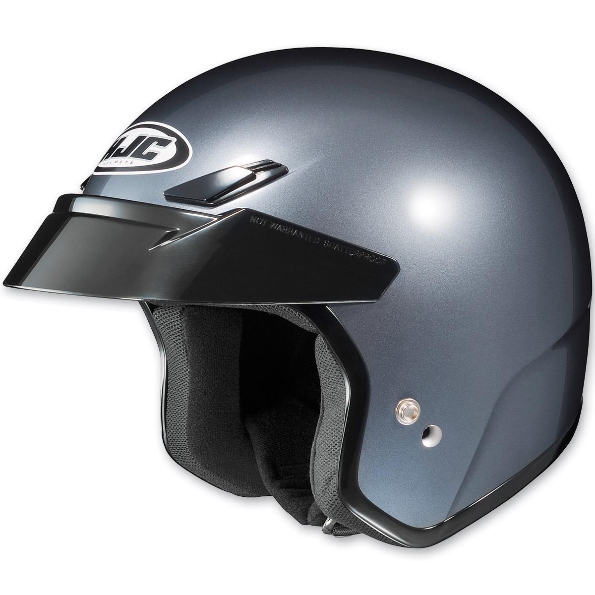 HJC CS-5N Metallic Anthracite Open Face Helmet