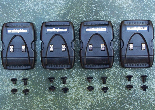 Ponderosa Products Saddlebag Lid Locks