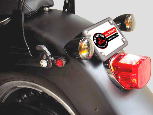 Image result for rear turn signal relocation kit dyna