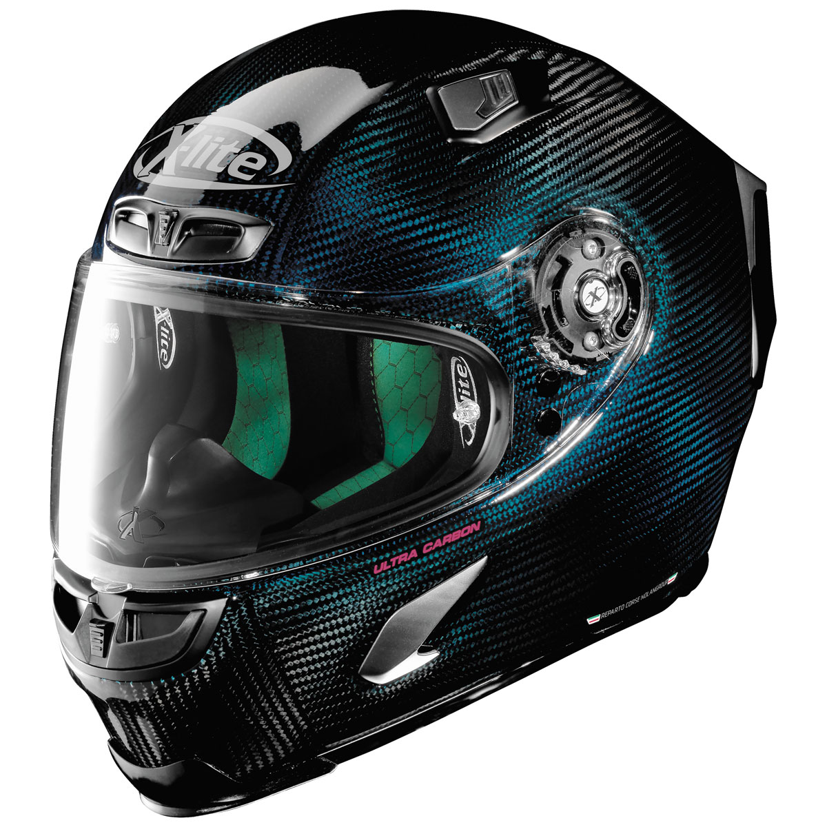 X-Lite X-803 Nuance Carbon Blue Full Face Helmet