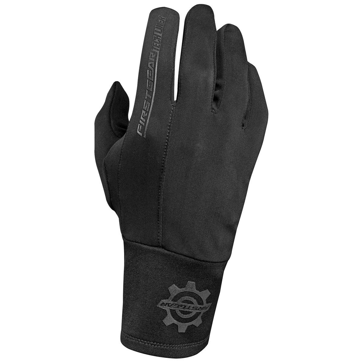 Firstgear Women's Tech Black Glove Liners