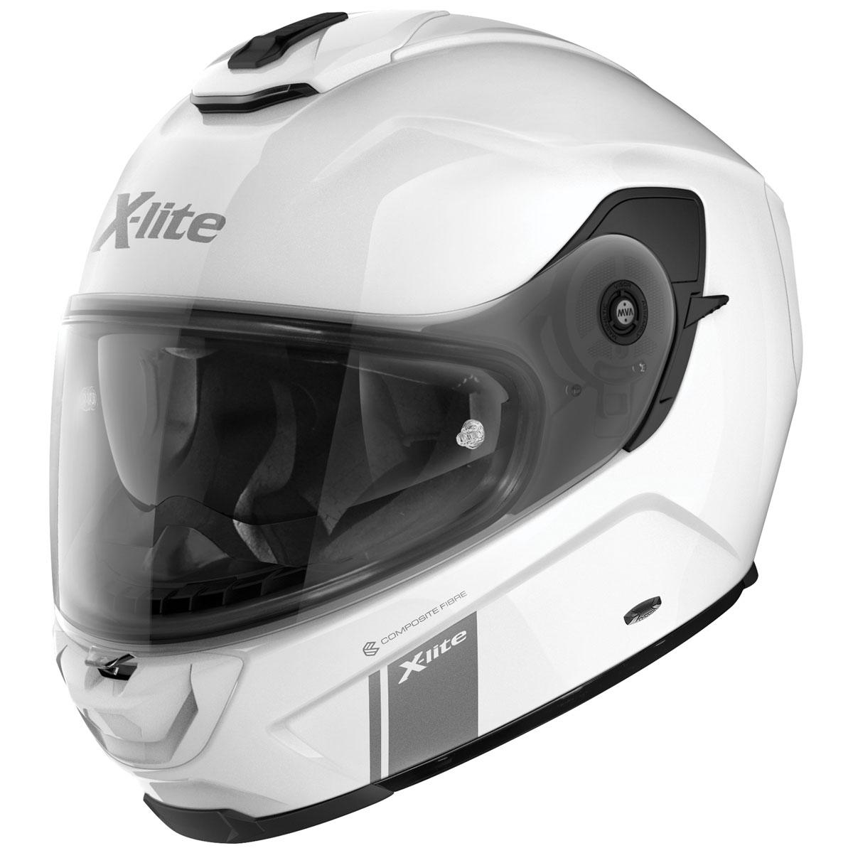 X-Lite X-903 Metal White Full Face Helmet