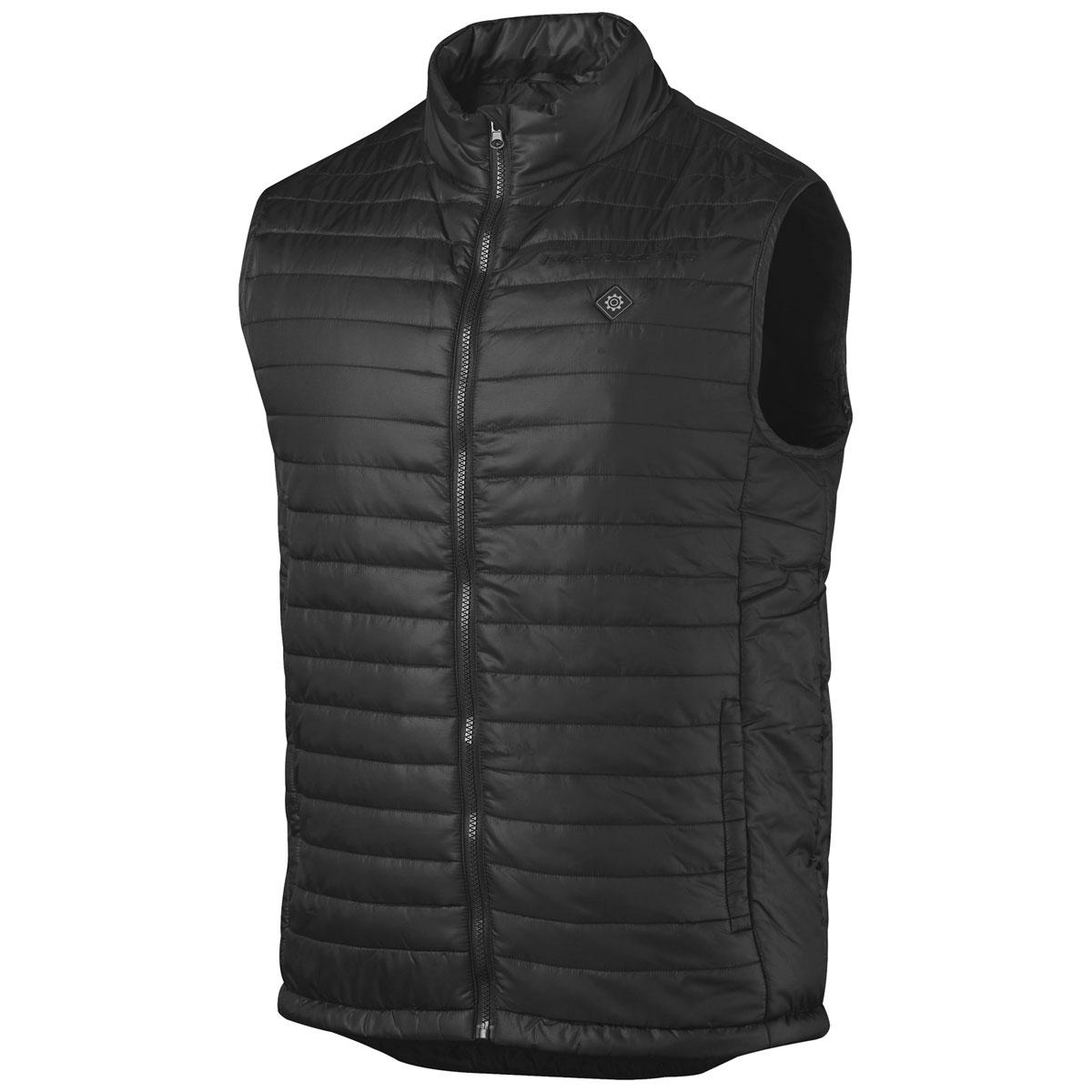 Firstgear Men's Heated Black Puffer Vest