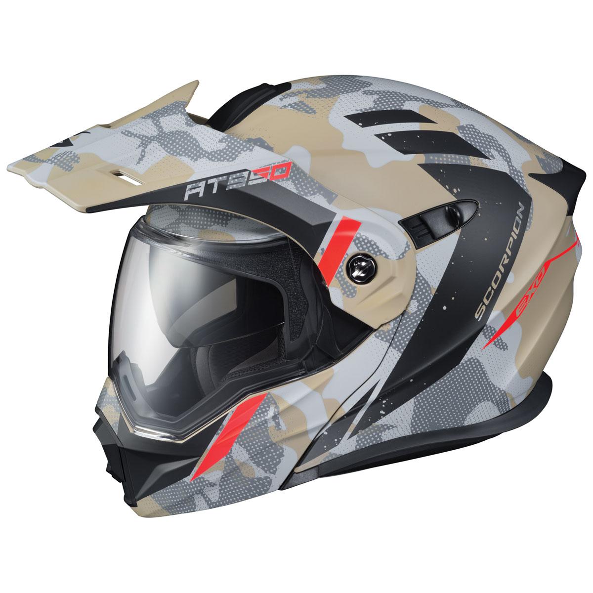 Scorpion EXO EXO-AT950 Outrigger Sand Modular Helmet