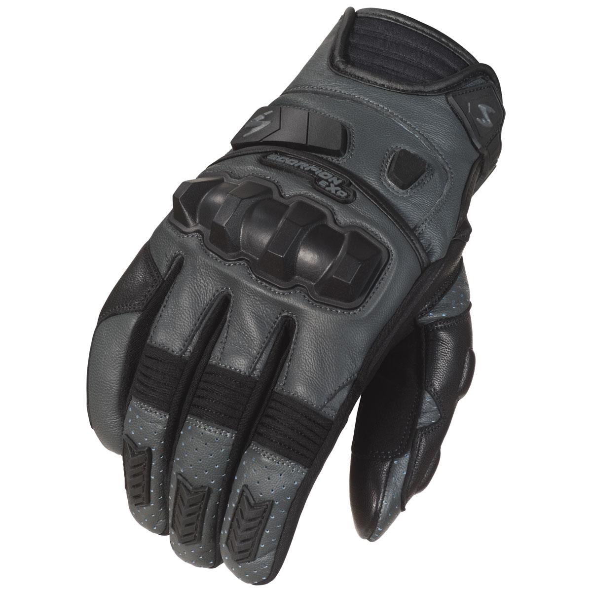 Scorpion EXO Men's Klaw II Gray Leather Gloves