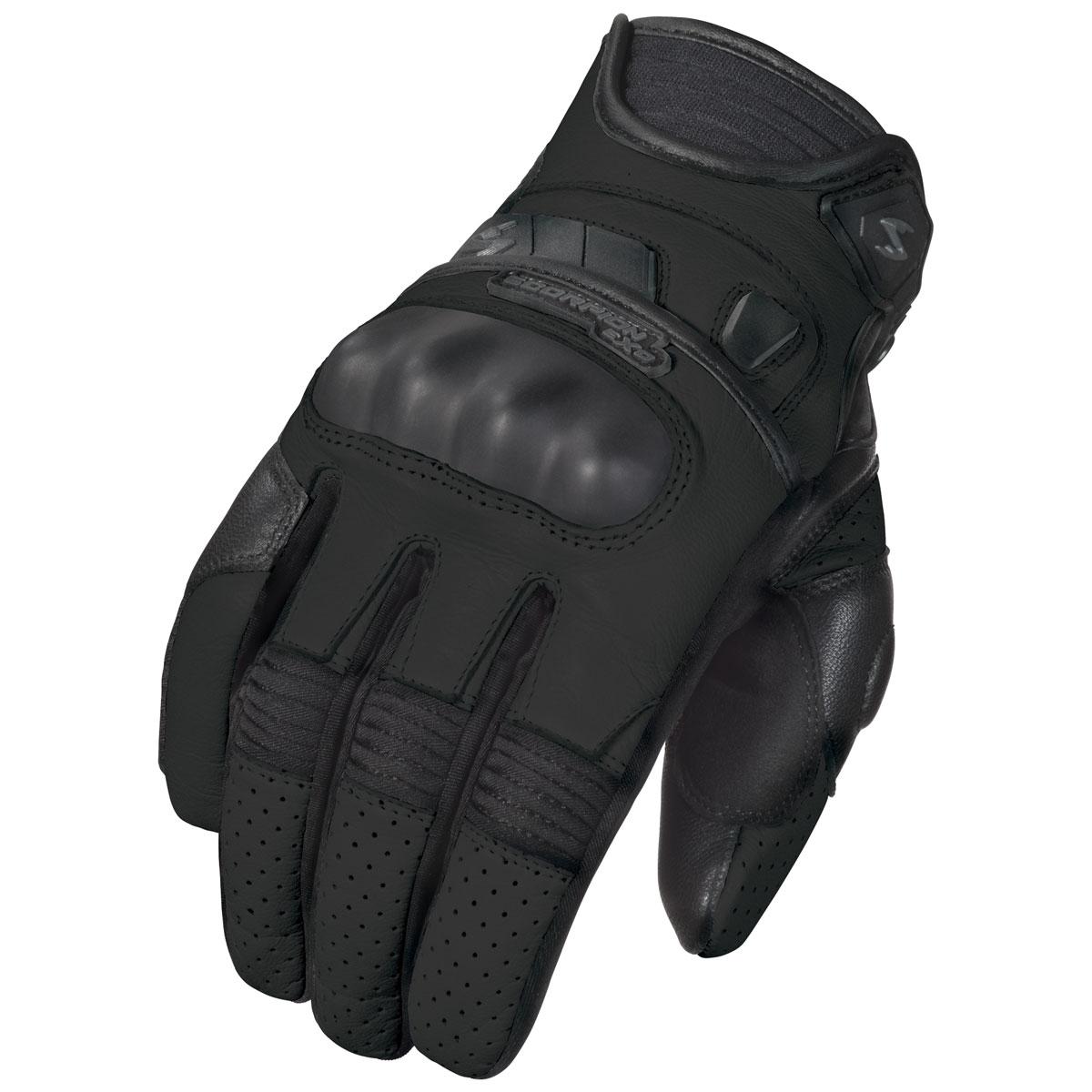 Scorpion EXO Women's Klaw II Black Leather Gloves