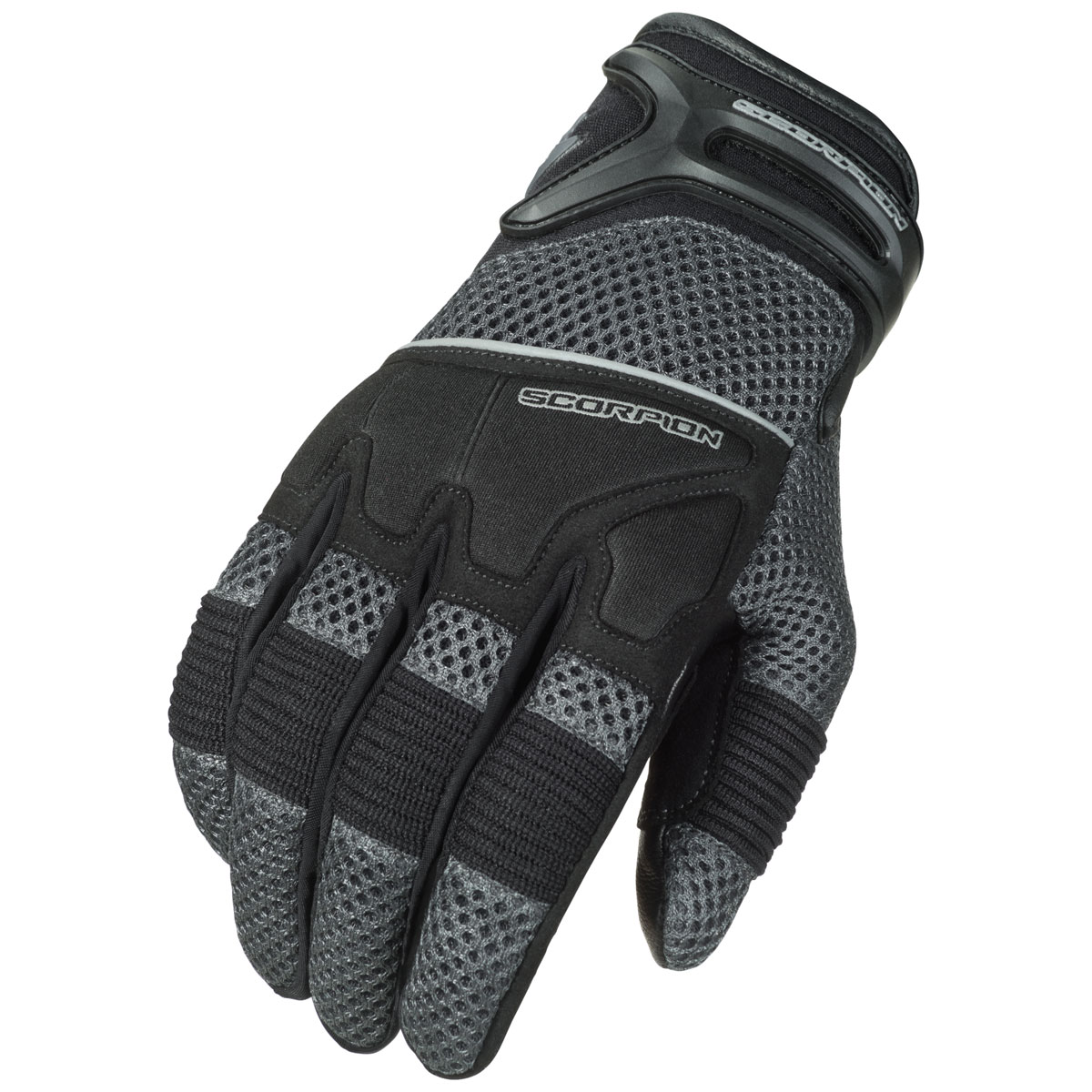 Scorpion EXO Men's Cool Hand II Gray Mesh Gloves
