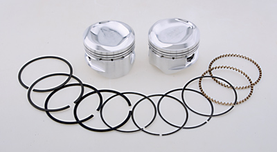 S&S Cycle Piston Kit, 3.5