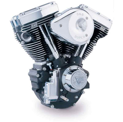 S&S Cycle 124″ Evo Style Engine