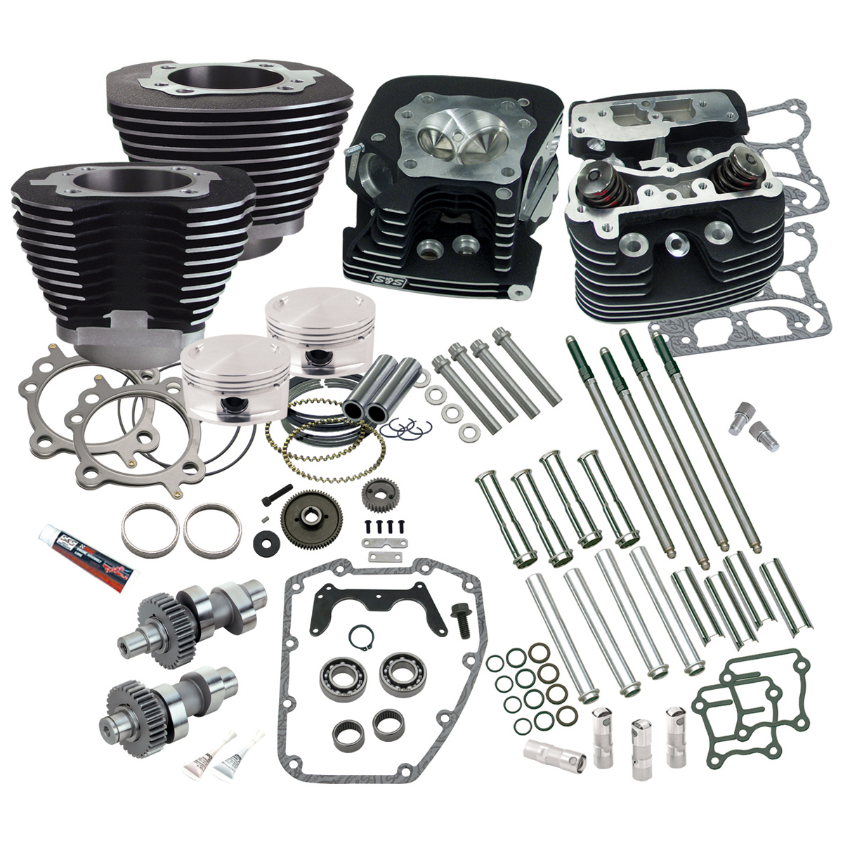 S&S Cycle 95″ Hot Set-Up Kit - 106-0214
