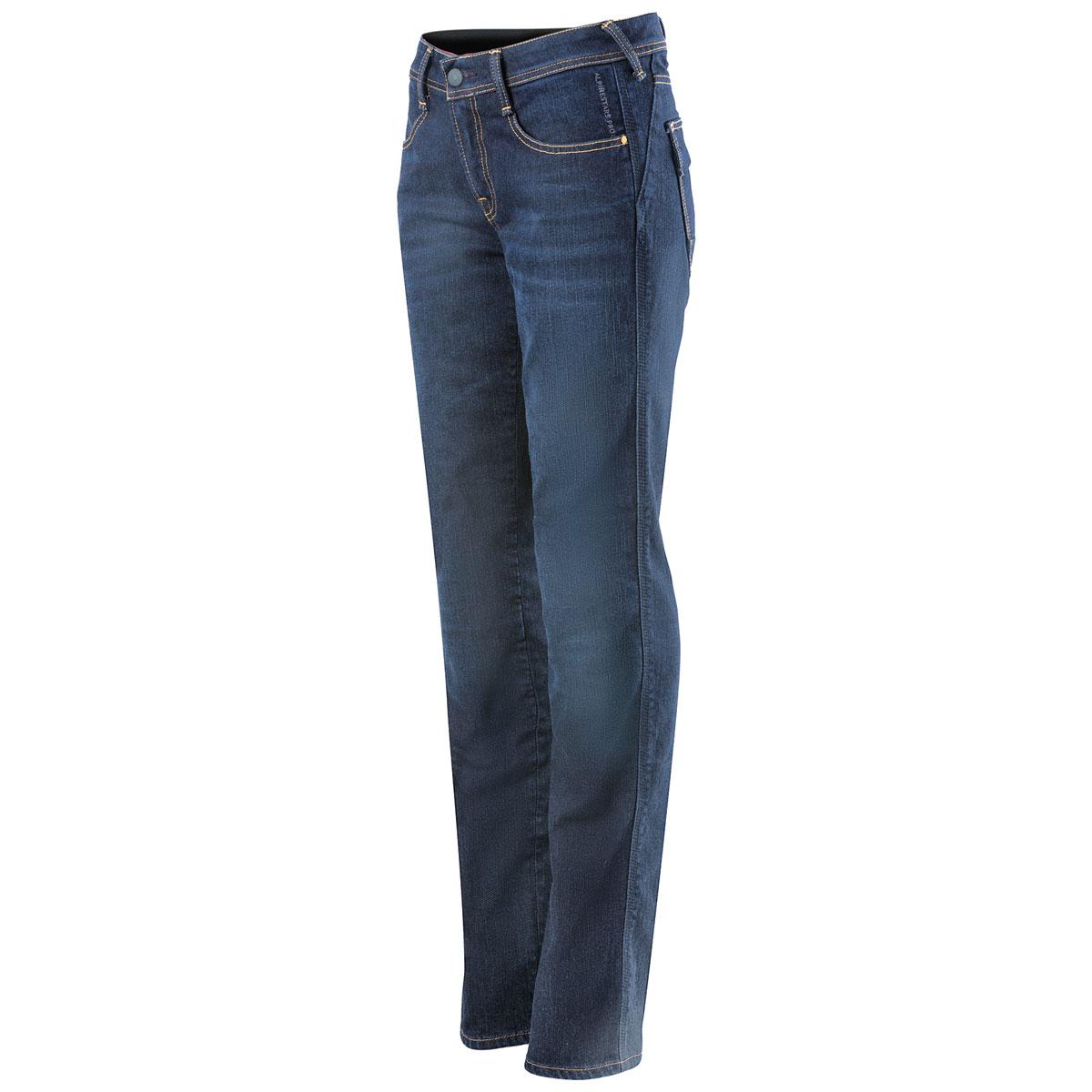 Alpinestars Women's Stella Angeles Medium Tone Denim Pants