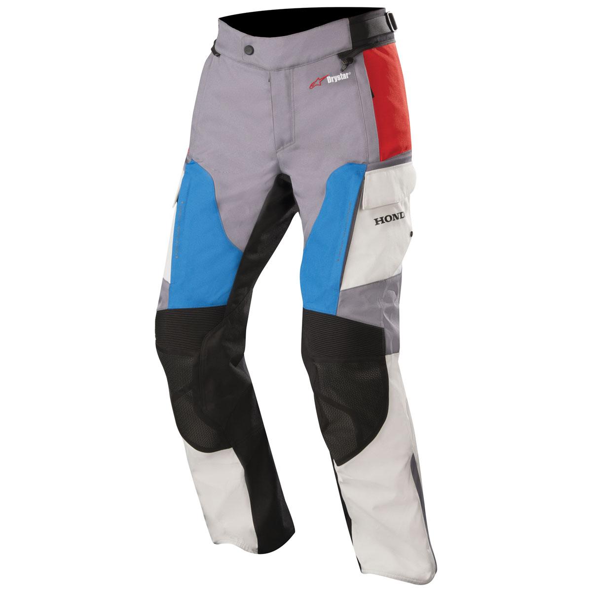 Alpinestars Men's Andes v2 Drystar Honda Gray/Red/Black Riding Pants