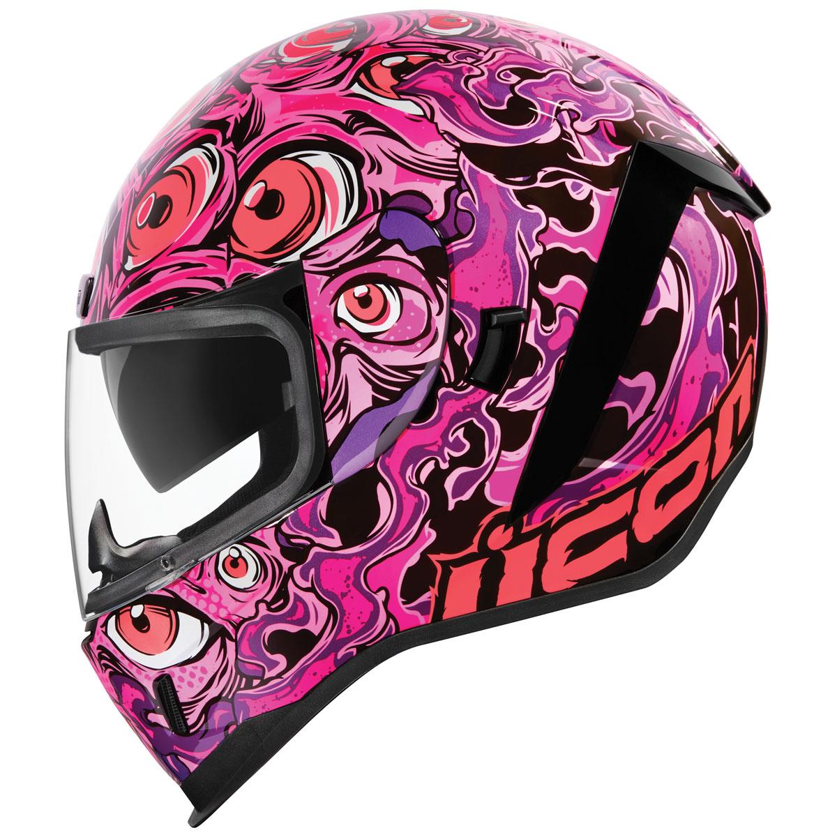 ICON Airform Illuminatus Pink Full Face Helmet