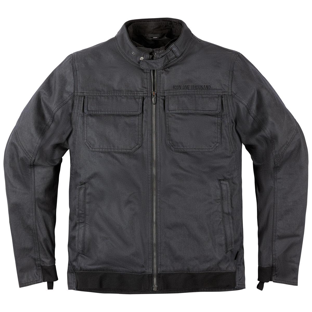 ICON One Thousand Men's Brigand Slate Denim Jacket