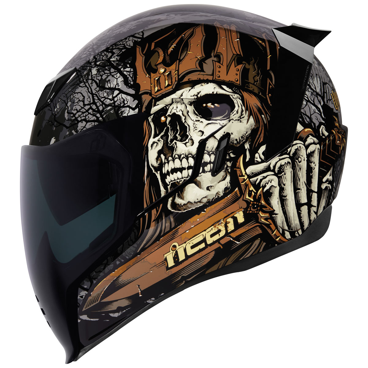 ICON Airflite Uncle Dave Full Face Helmet
