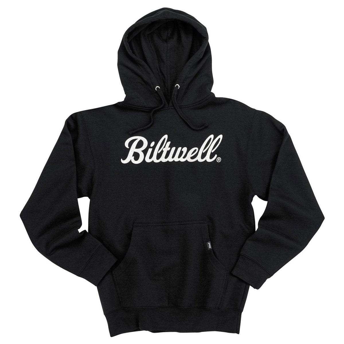Biltwell Inc. Men's Script Pullover Black Hoodie