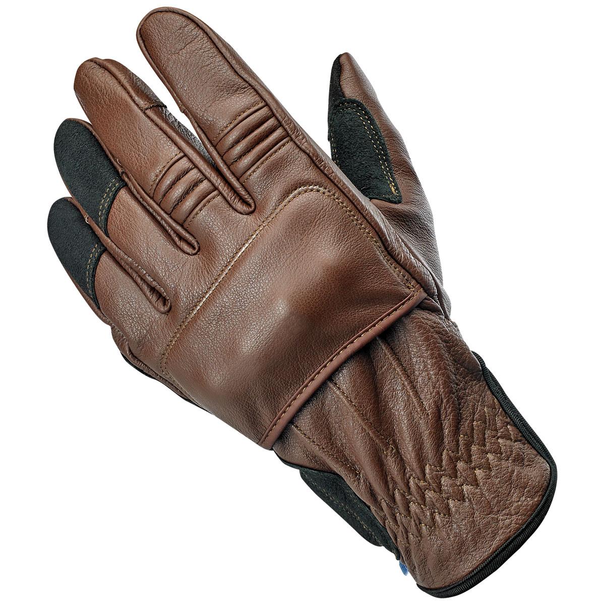 Biltwell Inc. Men's Belden Chocolate Leather Gloves