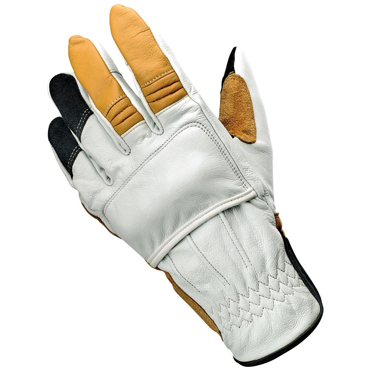 Biltwell Inc. Men's Belden Cement Leather Gloves