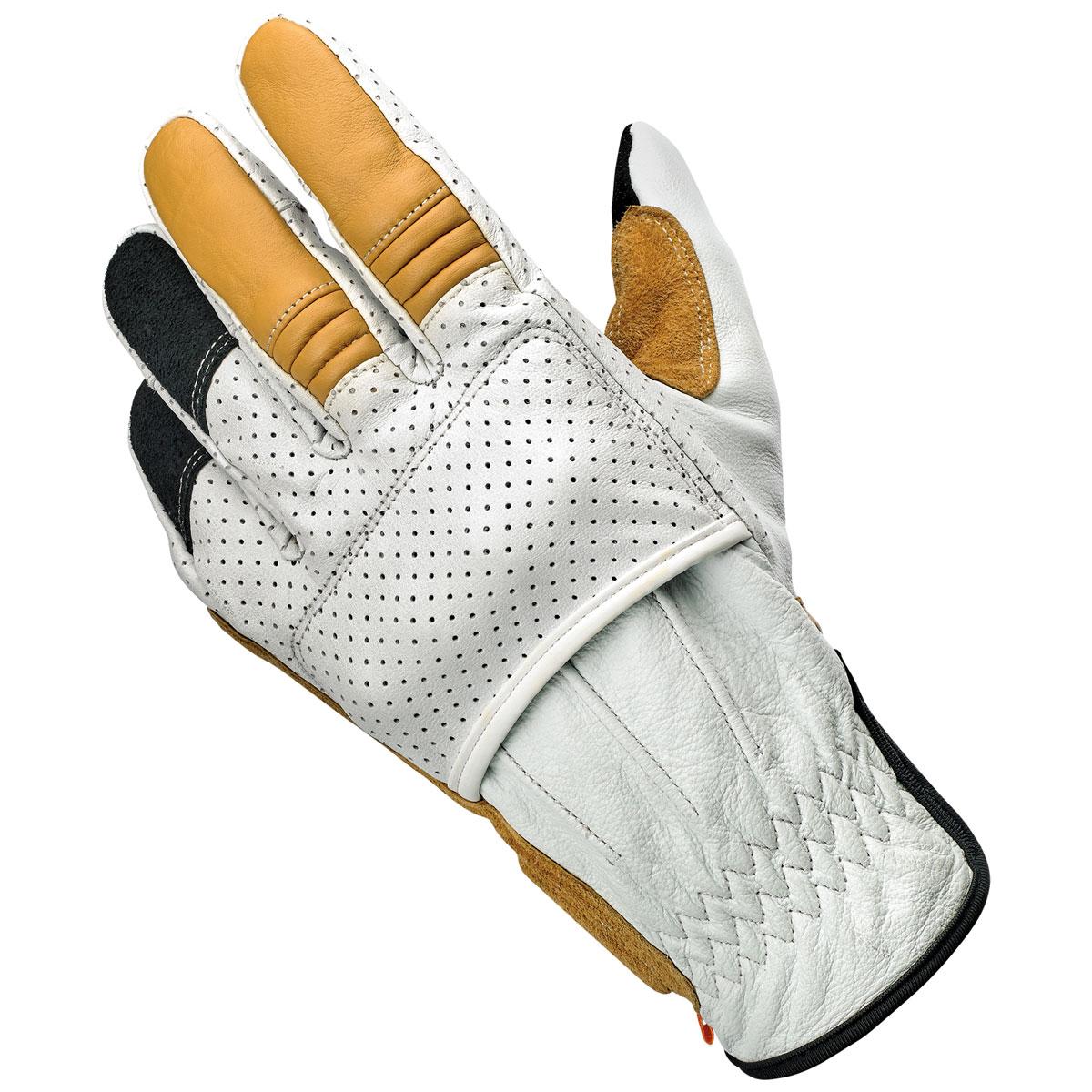 Biltwell Inc. Men's Borrego Cement Leather Gloves