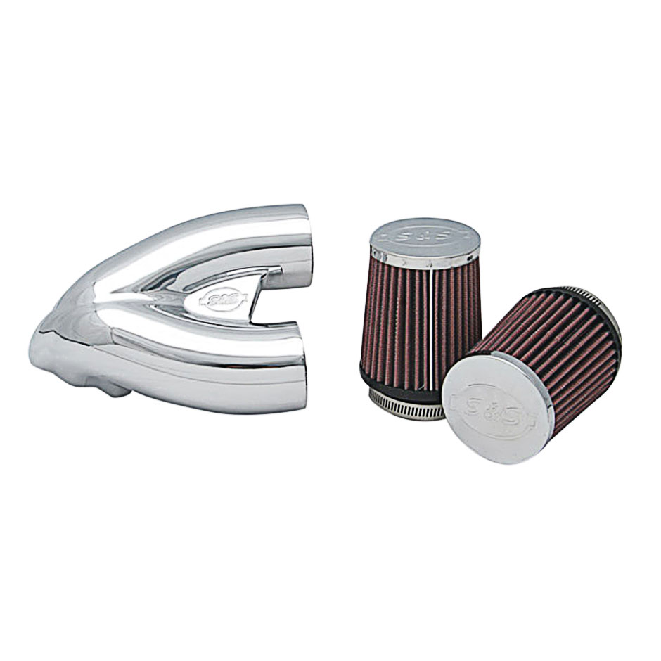 S&S Cycle Chrome Tuned Induction System - 106-4967