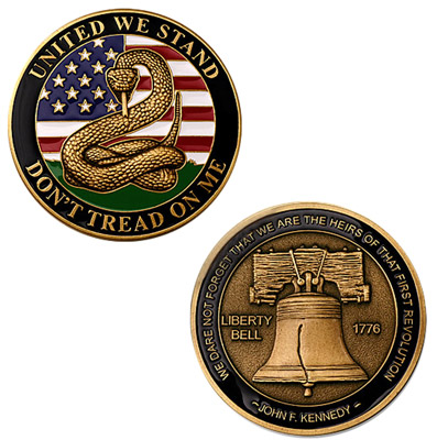 Motordog69 United We Stand Challenge Coin