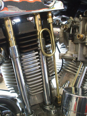 Old-Stf Brass Oil Line Kit for Sportster