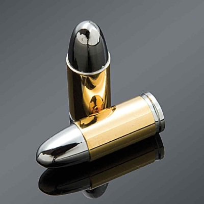 J&P Cycles® Bullet valve stem caps