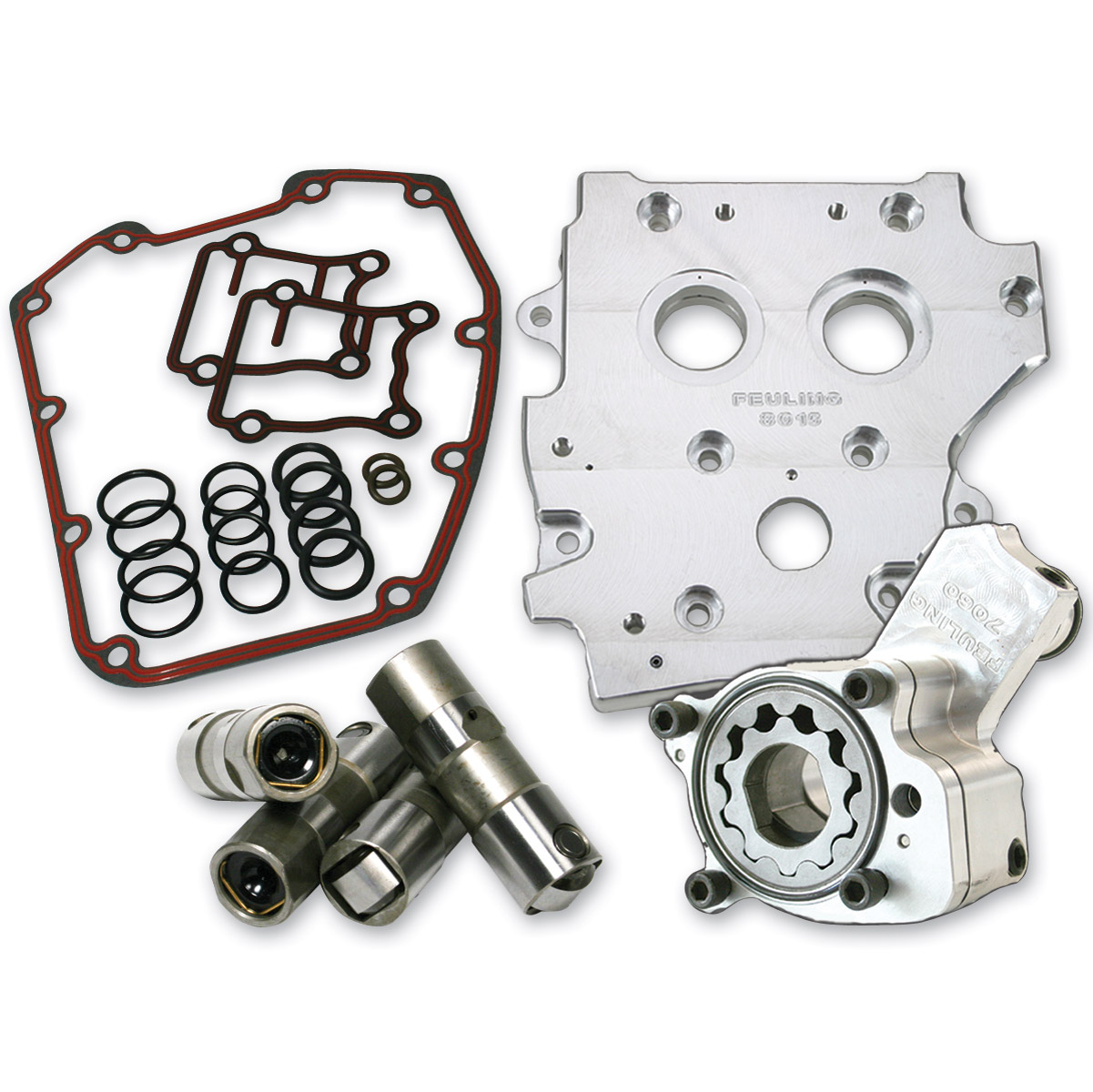 Feuling HP+ Series Gear and Chain Drive Oiling System Kit